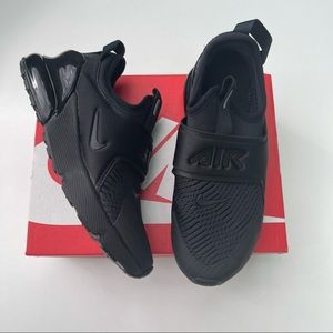 NEW Nike Air Max 270 Extreme Black Kids Size 1